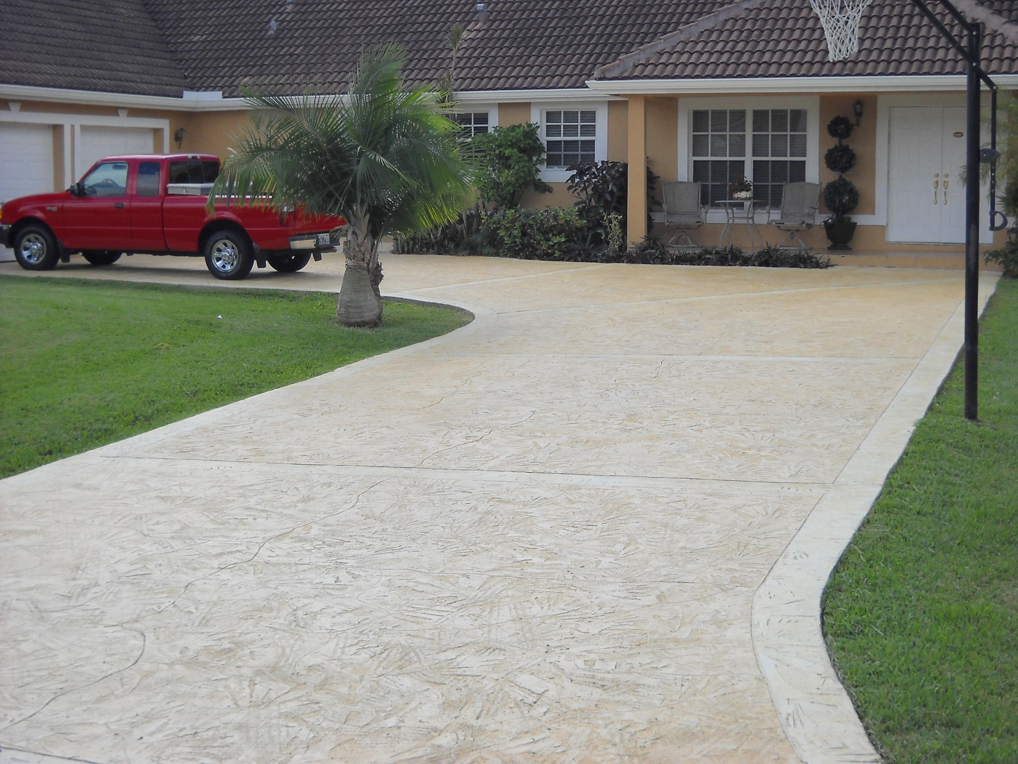 100 Photos Of Stamped Concrete Patios Patio Ideas