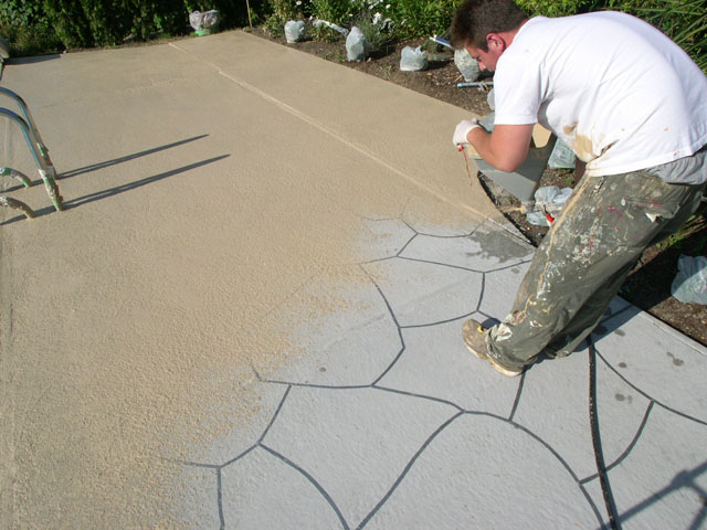 Image Result For Resurface Concrete Driveway