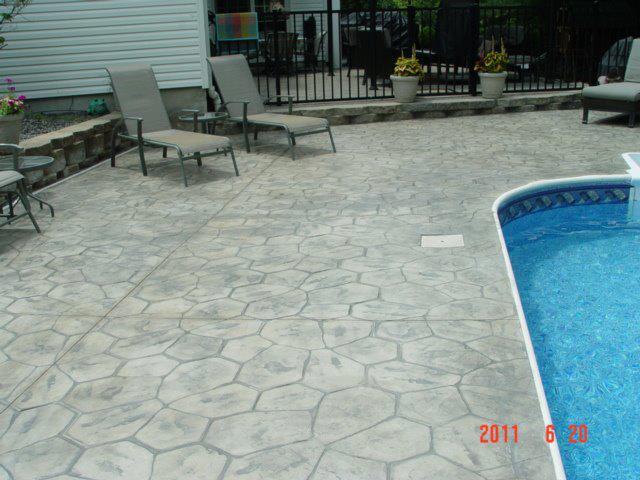 Stamped Concrete Eagle Concrete Corp Browards Top Concrete - Polished concrete patio