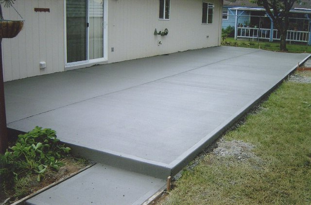 Photos eagle concrete corp broward 39 s top concrete contractors for stamped concrete - Concrete backyard design ...